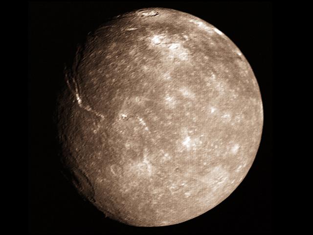 Titania Moon