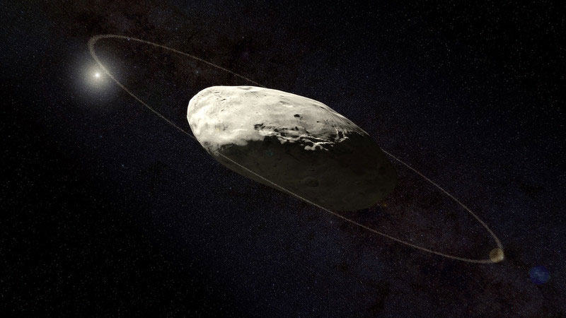 Haumea With Ring